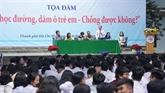 Plus de 2000 élèves à un débat sur la non-violence