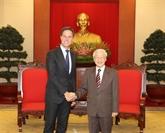 Nguyên Phu Trong reçoit le Premier ministre néerlandais
