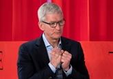 La baisse des ventes d'iPhone se confirme mais Apple voit une