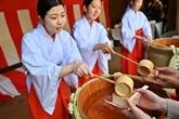 Saké et rites shinto, le Japon célèbre la