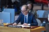 L'envoyé de l'ONU fait part de progrès dans les discussions pour trouver une solution politique