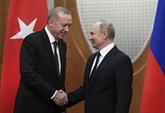 Les présidents turc et russe discutent de la situation en Syrie et en Libye par téléphone