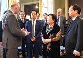 Une délégation de la ville de Hanoï en visite de travail en Irlande