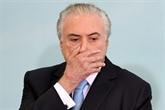 Corruption au Brésil: l'ex-président Temer se présente à la police