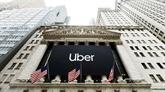 Uber cale pour son baptême boursier à New York