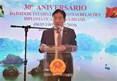 Célébration des 30 ans des relations Vietnam - Brésil à Brasilia