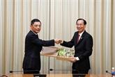 Vietnam - Chine: accélérer la coopération entre Hô Chi Minh-Ville et Shanghai