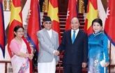 Déclaration commune Vietnam - Népal