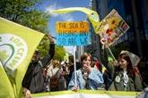 Climat: nouvelle marche à Bruxelles pour faire pression sur les politiques