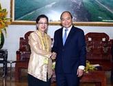 Le Premier ministre reçoit la vice-secrétaire générale des Nations unies