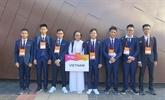 Le Vietnam primé aux 19es Olympiades de physique d'Asie