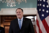 Étát-Unis: Pompeo se rend à Bruxelles pour discuter de l'Iran avec les Européens