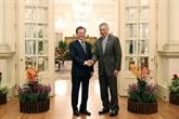 La R. de Corée et Singapour signent un nouvel accord de non double imposition