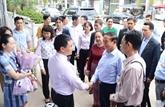 Vesak 2019: la président birman à Quang Ninh