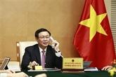 Entretien téléphonique entre Vuong Dinh Huê et Steven Mnuchin
