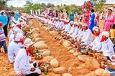 Les Cham fêtent leur Nouvel An Ramuwan à Binh Thuân