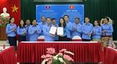Syndicat: partager des expériences entre Son La et les provinces laotiennes au Nord