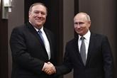 Vladimir Poutine et Mike Pompeo se disent prêts à réparer les relations russo-américaines
