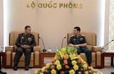 Défense: promotion de la coopération entre le Vietnam et le Cambodge