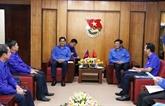 Des jeunes vietnamiens et laotiens cherchent à renforcer leur coopération