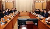 Hô Chi Minh-Ville et Singapour promeuvent leur coopération