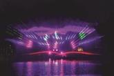 Dâm Sen by night et ses écrans géants deau en 3D