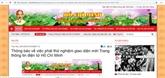 Nouvelle interface lancée pour la page sur le Président Hô Chi Minh