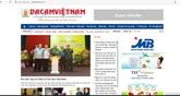 Le magazine électronique Da cam Vietnamvoit le jour