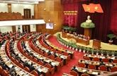Premier jour de travail du 10e plénum du Comité central du Parti