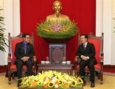 Vietnam - Laos: renforcement de la coopération entre les jeunes