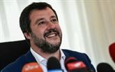 À Milan, Salvini lance les souverainistes à la conquête de l'Europe