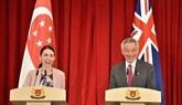 Singapour renforce son partenariat avec la Nouvelle-Zélande