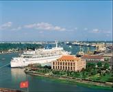 Le port de la Maison du Dragon - le musée Hô Chi Minh