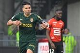 Ligue 1: Falcao offre un point à Monaco chez des Rennais émoussés
