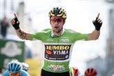Tour de Romandie: le Slovène Primoz Roglic en jaune après la 1re étape
