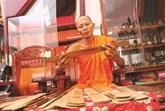 Le kinh la buông, livre ancien des Khmers