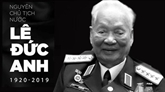 Décès de l'ancien président Lê Duc Anh: messages de condoléances