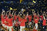 Euroligue: le CSKA Moscou de Nando De Colo de nouveau champion d'Europe