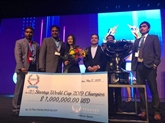 Une start-up vietnamienne gagne un million de dollars à la Startup World Cup
