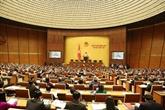 Ouverture de la 7e session de l'AN de la XIVe législature