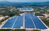 Le premier projet d'électricité solaire raccordé au réseau national