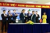 Vinaconex signe un accord de coopération avec un partenaire étranger