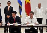 Le vice-PM et ministre des AE Pham Binh Minh en visite officielle à Cuba