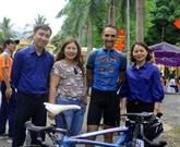Un cycliste français amoureux du Vietnam