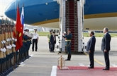 Le PM Nguyên Xuân Phuc est accueilli solennellement à Moscou