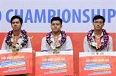 Trois candidats vietnamiens à la finale du concours mondial d'informatique bureautique