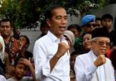 Indonésie: le président réélu appelle à l'unité