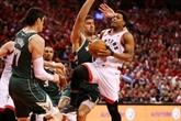 NBA: Toronto égalise en donnant une leçon à Milwaukee