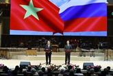 Ouverture de lAnnée de lamitié Vietnam - Russie à Moscou