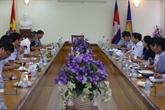 Une délégation intersectorielle vietnamienne au Cambodge